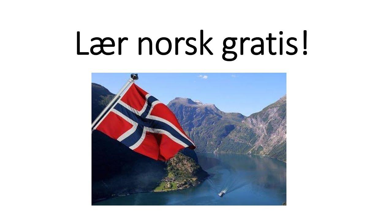 lær norsk online