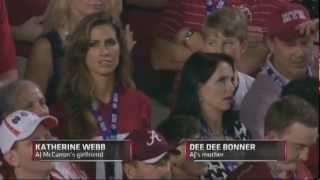 McCarron's Girl-Friend Katherine Web Is A Beauty & Announcer  Brent Musburger Cant Contain Himself!