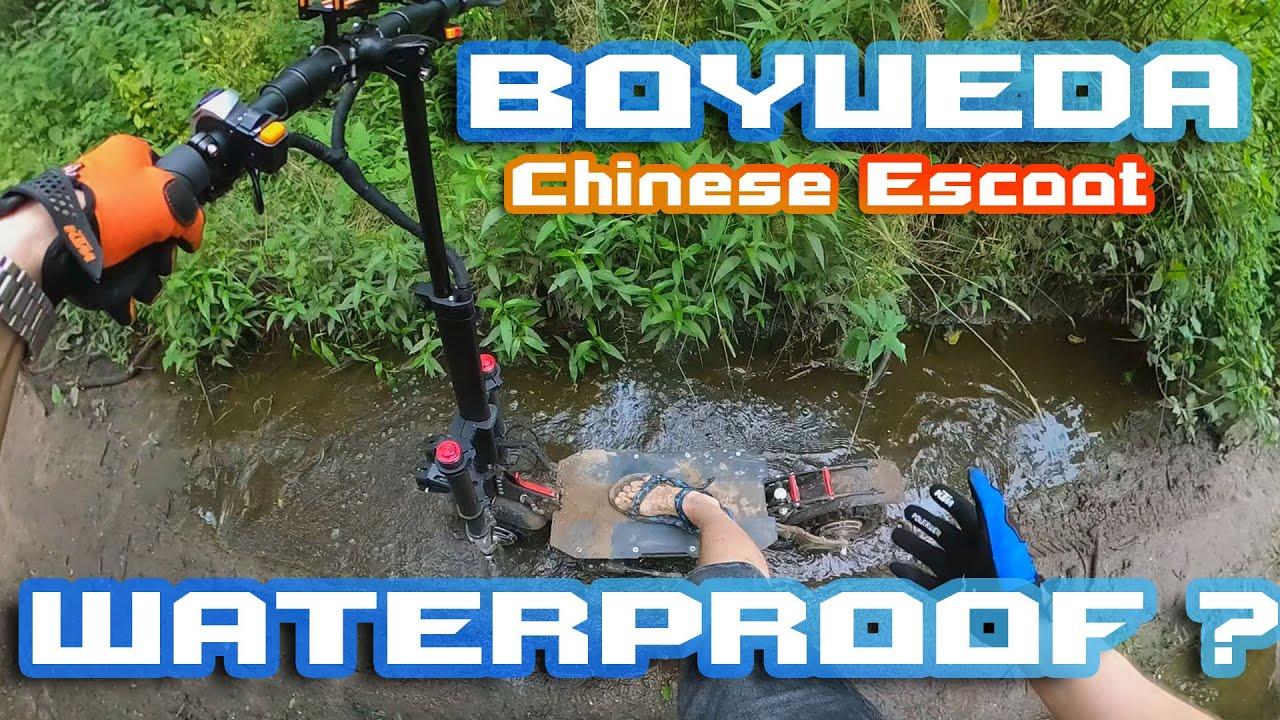 Is Boyueda waterProof ? 🤷♂️😎 Hard Offroad & Deep Mud 🌄🛴 + Eswing ESM8 & Techlife X7 🚀⚡
