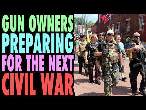 Gun Owners Preparing for the Next CIVIL WAR! (Angry Rant)