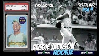 1969 Reggie Jackson rookie card Topps 260 PSA 9