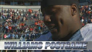 UNC QB Marquise Williams Talks Big Road Win Over UVA