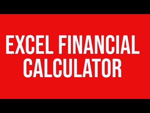 custom formulas excel financial calculator youtube