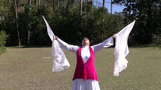 Praise Flag Dance to Refreshing to my Soul by John W. Stevenson