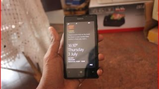 How to change the text size on nokia lumia devices