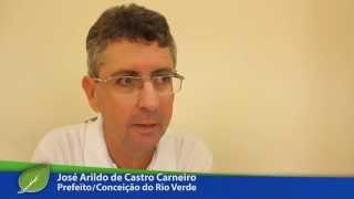 Depoimento do Prefeito de Conceição do Rio Verde José Arildo - Carlos Melles 2555 - 2014