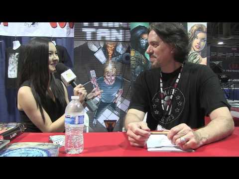 Marc Silvestri - Long Beach Comic Con 2015