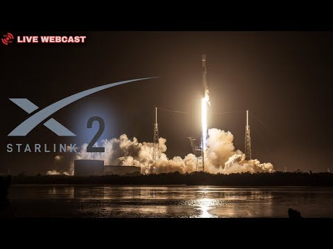 SpaceX Starlink 2 Launch - LIVE