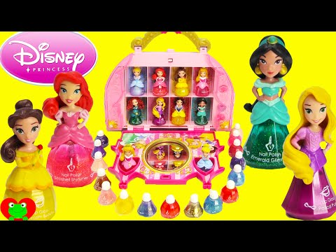 Disney Princess Little Kingdom Cosmetic Castle Vanity Makeup Set