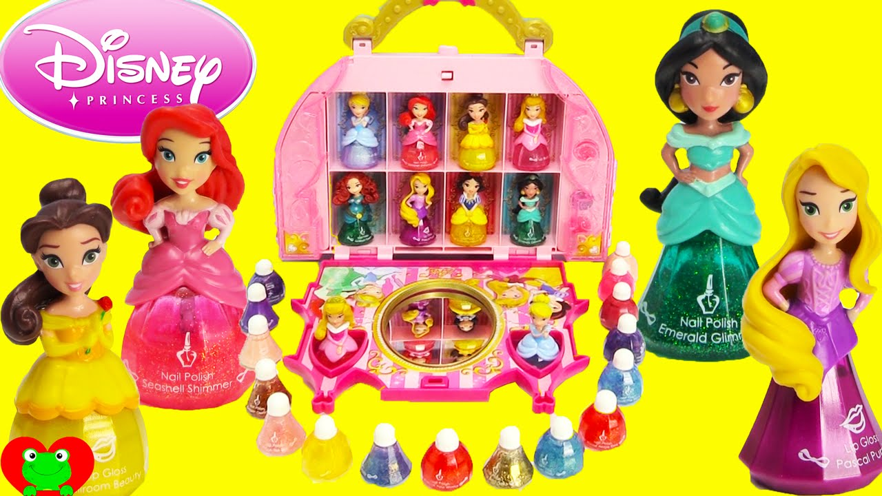 Disney Princess Little Kingdom Cosmetic Castle Vanity Makeup Set