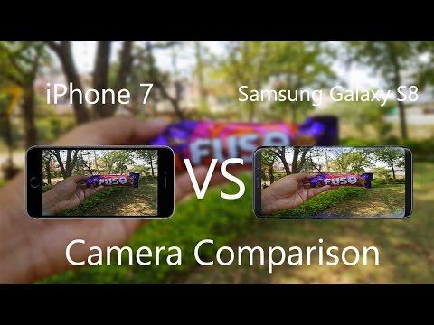 Samsung Galaxy S8 VS IPhone 7 Camera Comparison