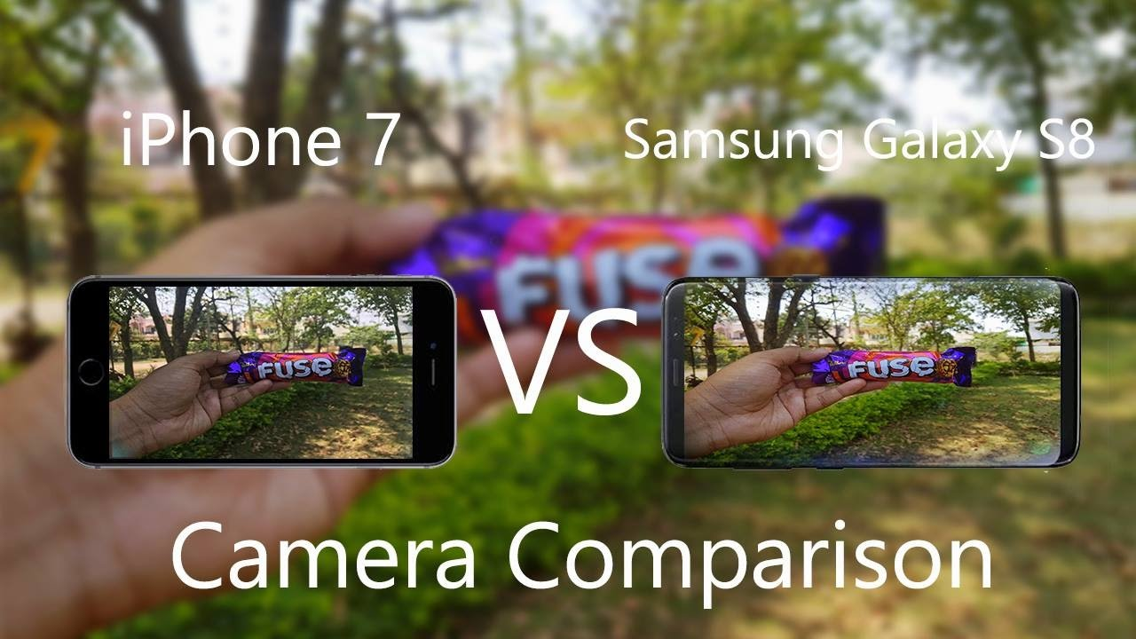 iphone 8 vs samsung s8 camera test