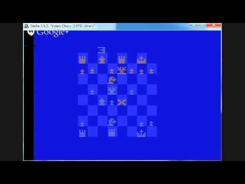 Intellivision vs. Atari VCS Chess