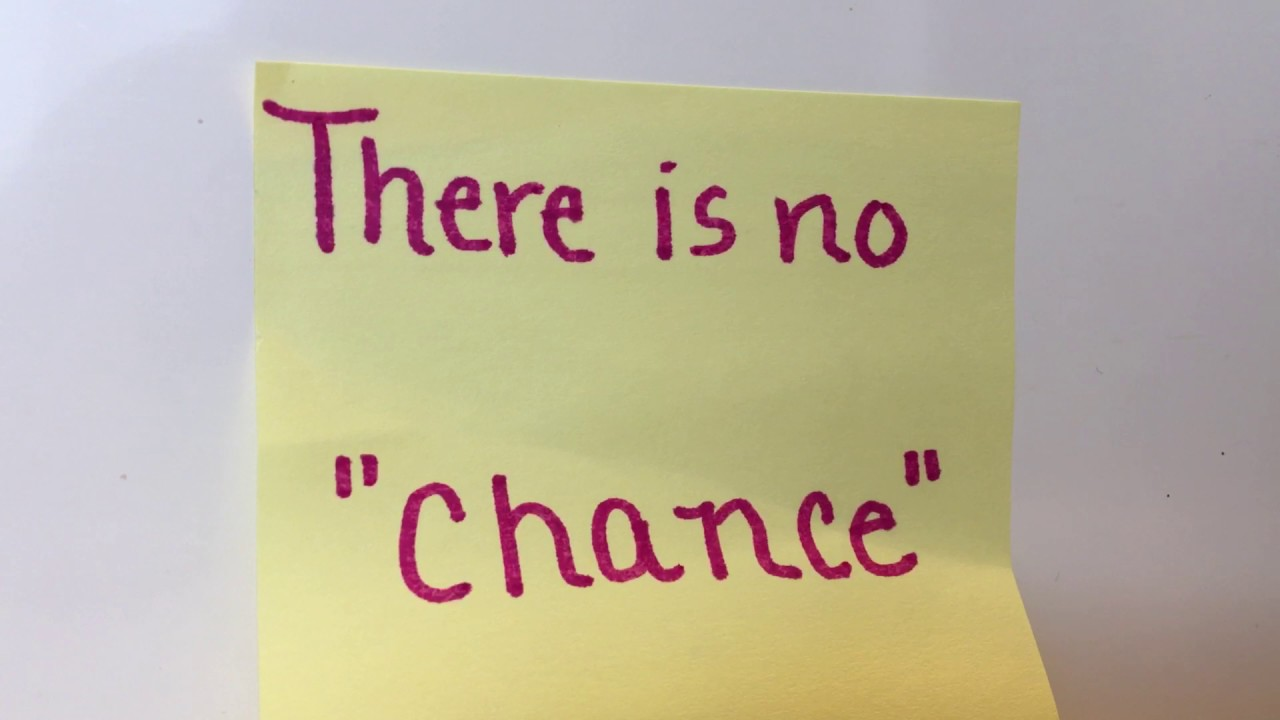 """Motivational Quotes For Sports Teams: There Is No """"Chance"""""""