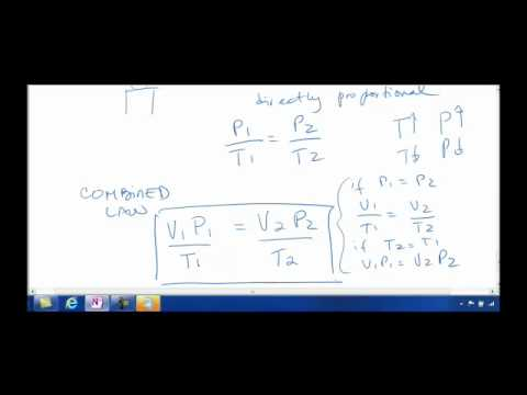 Gases Lecture for General Chemistry 1  (CHM1045)