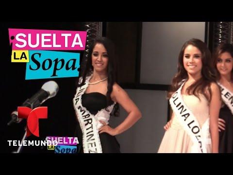 Cynthia de la Vega habló de supuesta salida de Lupita Jones  Suelta La Sopa  Entretenimiento