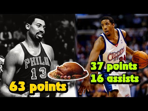 7 Greatest Thanksgiving Day Players In NBA History