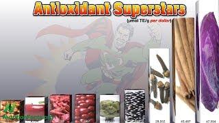3139 potravin a jejich antioxidační potenciál
