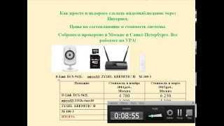 Видеонаблюдение через Интернет. Вся информация о системе за 10 минут.(, 2015-03-26T22:21:18.000Z)