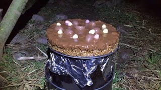 CAMPFIRE EASTER CAKE
