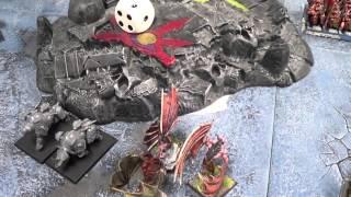 WHFB (24) - 3000 Vampire Counts vrs Warriors of Chaos, Van Berkel Invitational.