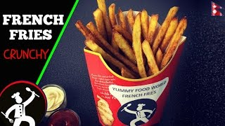 french fries recipe at home