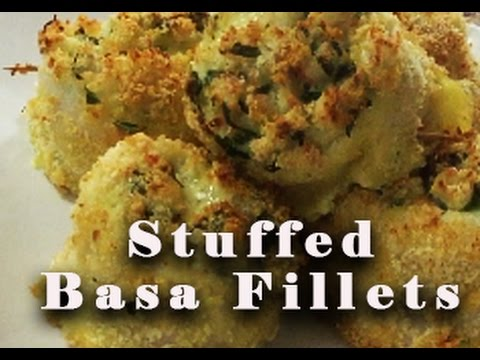 DELICIOUS Stuffed Basa Fillets - Baked To Perfection