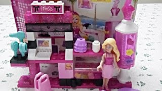 Barbie Mega Blocks- Barbie Collection,Cute Bag,Accessories,Style Thumbnail