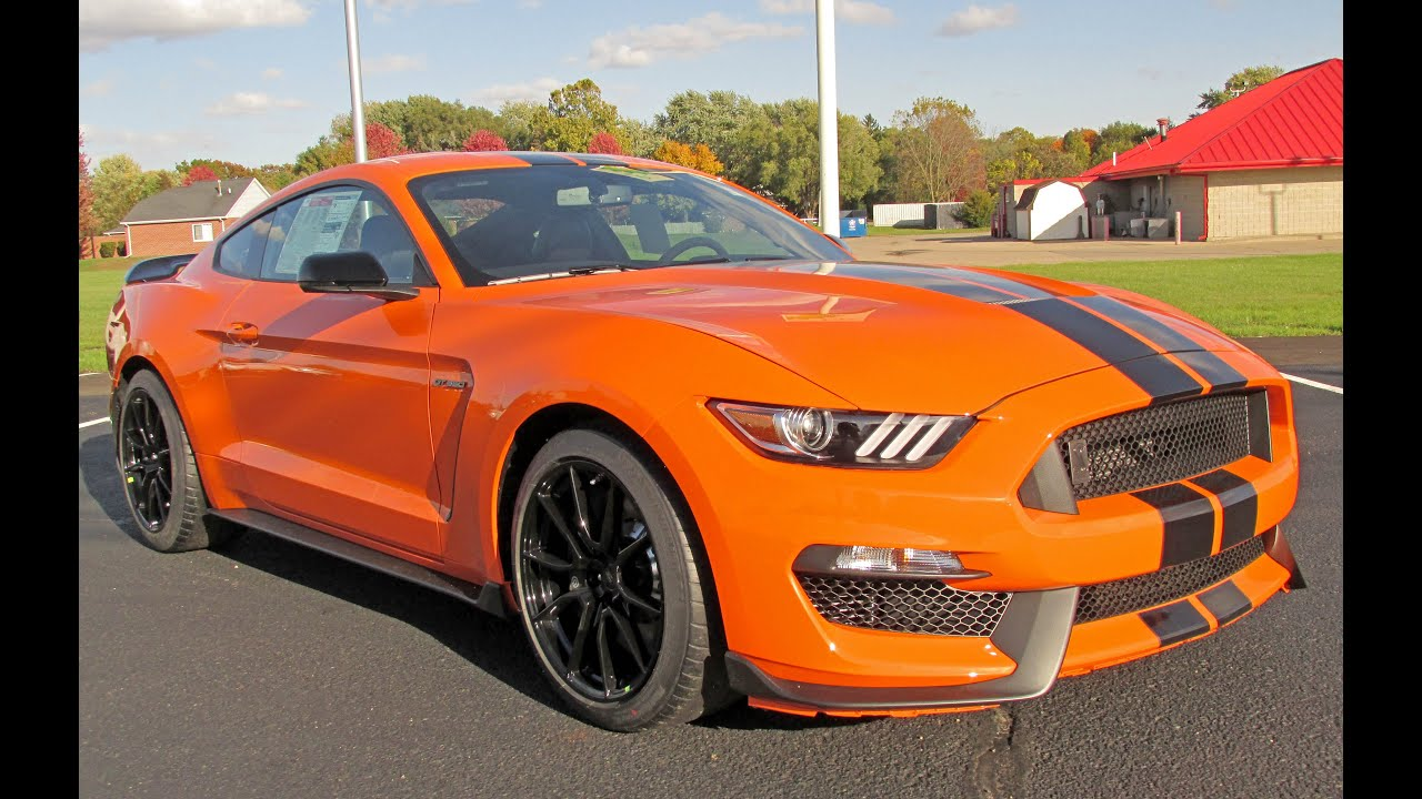 2020 Ford Mustang GT 350. It's Orange.... - YouTube