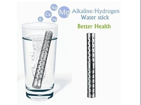 Unboxing Drhob Health Alkaline Water Stick PH Hydrogen Negative ION Ionizer