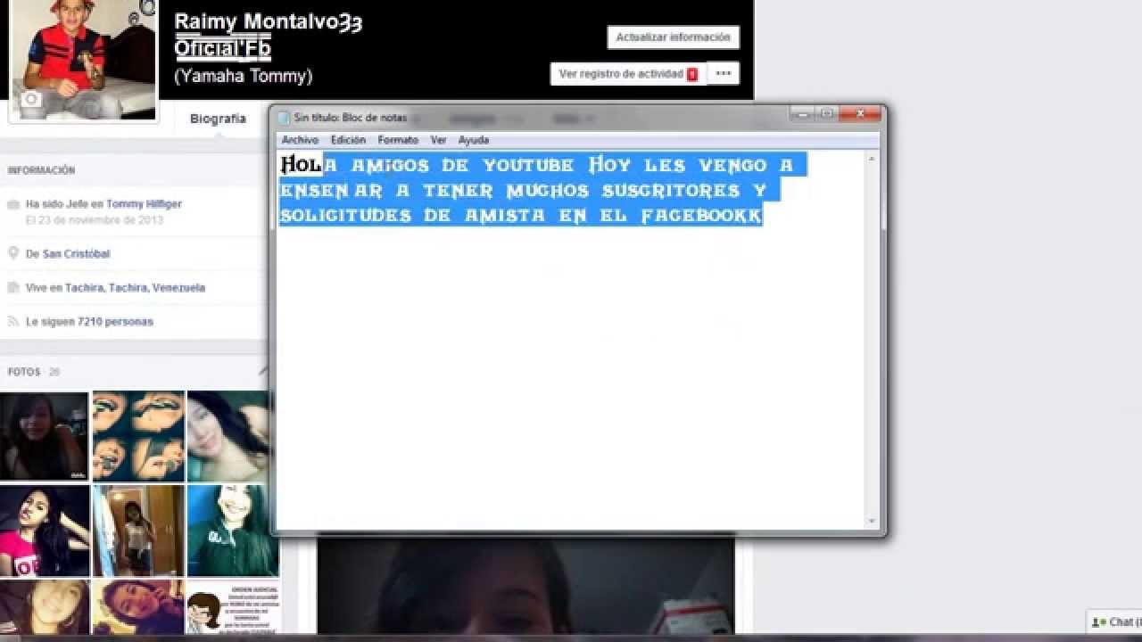 Solicitudes De Amistad - Inicio | Facebook