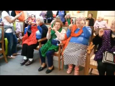 The best Bollywood dancing at Aged Care Nursing Homes