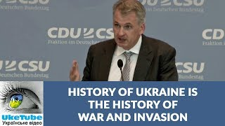History of Ukraine is the history of war & invasion, Timothy Snyder