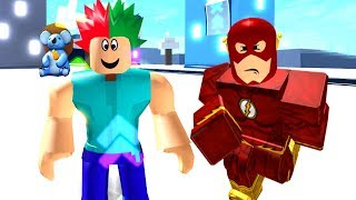 We're Running As Fast as ⚡ Flash - Roblox Legends Of Speed