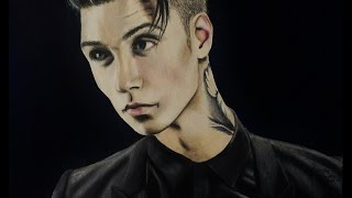 Drawing Andy Biersack
