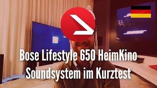 Bose Lifestyle 650  HeimKino Soundsystem im Kurztest