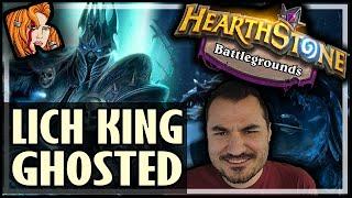 LICH KING GOT GHOSTED?! - Hearthstone Battlegrounds