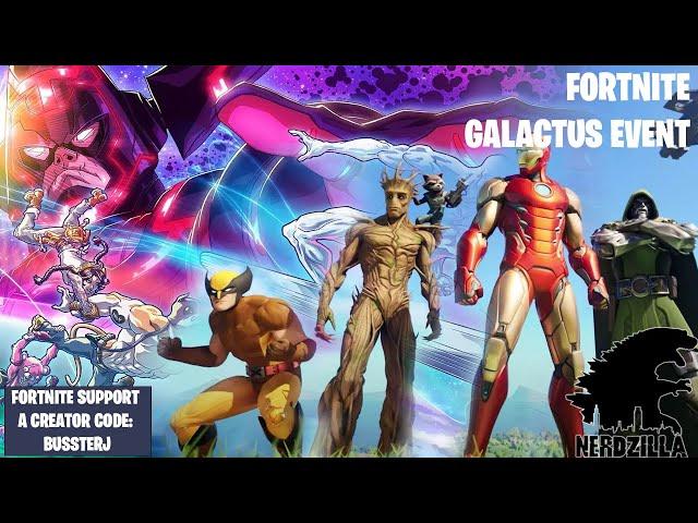 FORTNITE Galactus Event Season 4 Finale Stream with N3RDZILLA GAMING