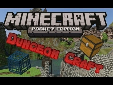 MCPE Adventure Map Review - Dungeon Craft!
