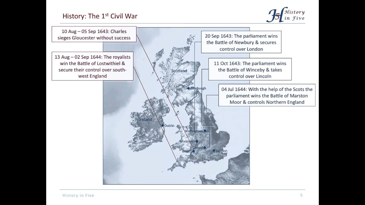 the english civil war 1642 1651 the english civil war 1642 1651