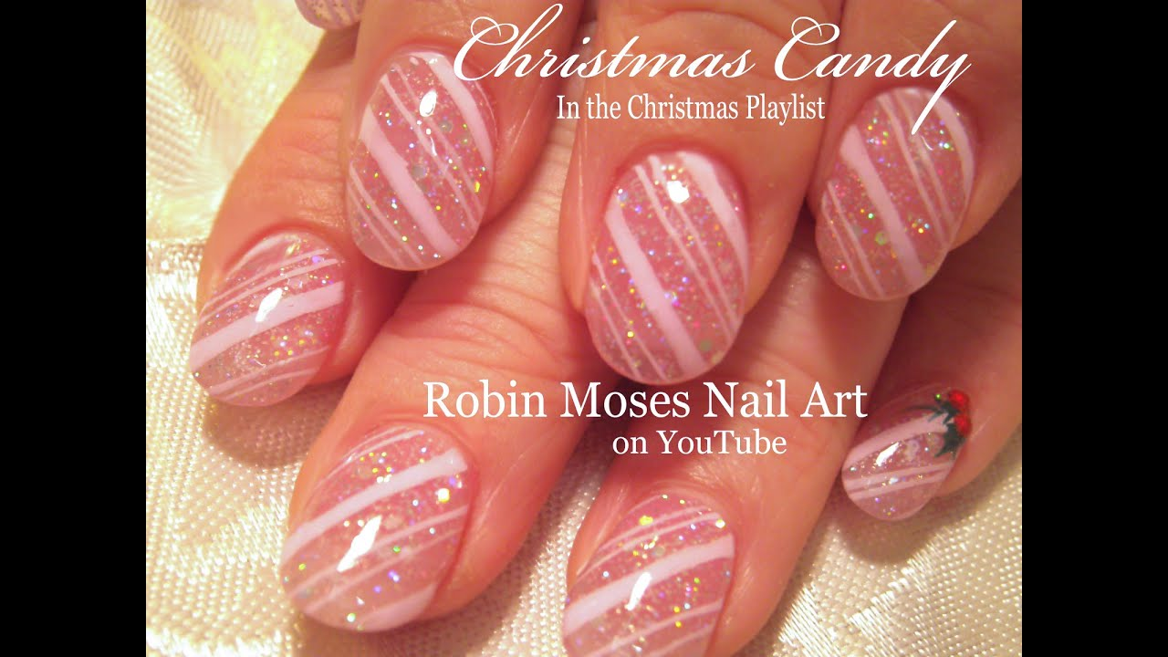 Diy christmas nails easy candy cane nail art design tutorial diy christmas nails easy candy cane nail art design tutorial youtube prinsesfo Image collections
