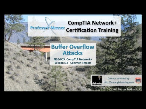 Buffer Overflow Attacks - CompTIA Network+ N10-005: 5.4