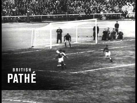 First Soccer Match In Moscow 19501959