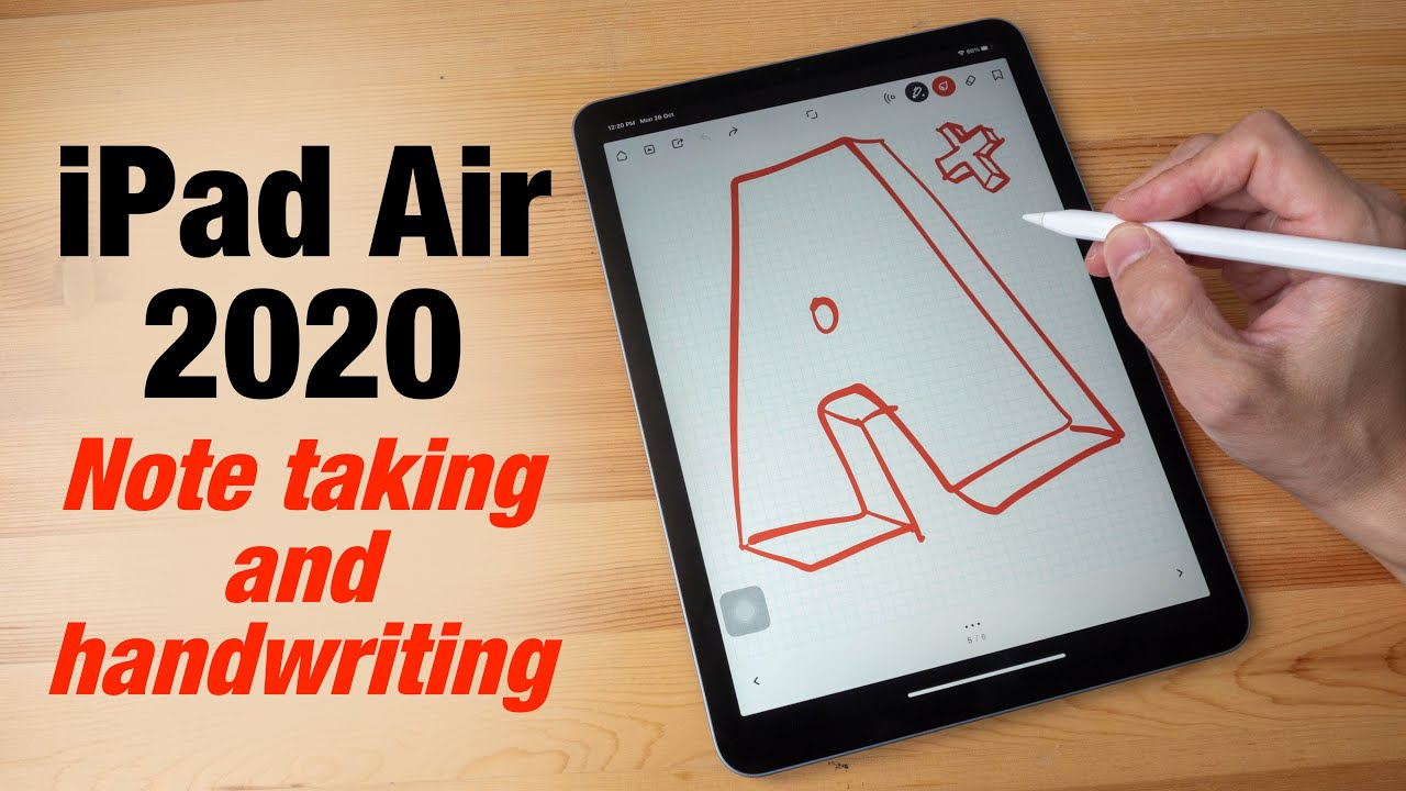 iPad Air 14 note taking and handwriting experience