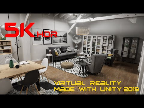 VR | Scandinavian House - Unity 2019 HDRP | 5K 60 fps - YouTube