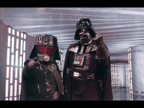 Darth Vader with Dark Helmet's Voice