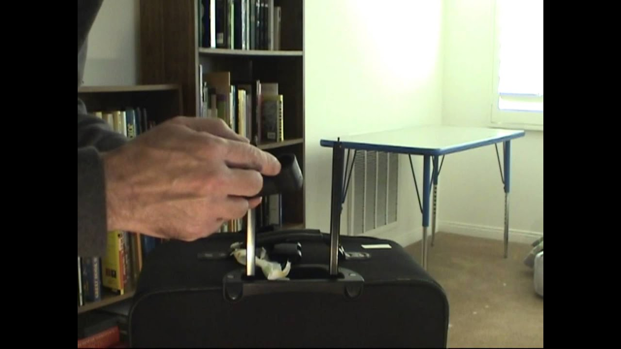 Luggage Handle Repair - YouTube