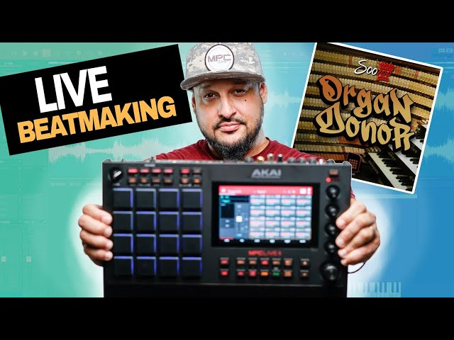 🔴Akai MPC Live 2 Chat, Beatmaking with Soo 100
