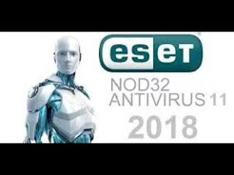 Download and Install ESET NOD 32 Antivirus v11 2018 Full + Life Activator 32 and 64 Bits