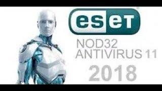 Download and Install ESET NOD 32 Antivirus v11 2018 Full + Life Activator 32 and 64 Bits